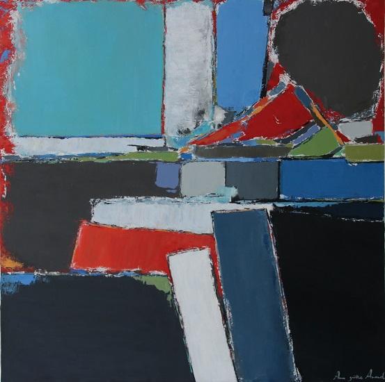 Composition 90x90cm - 2016
