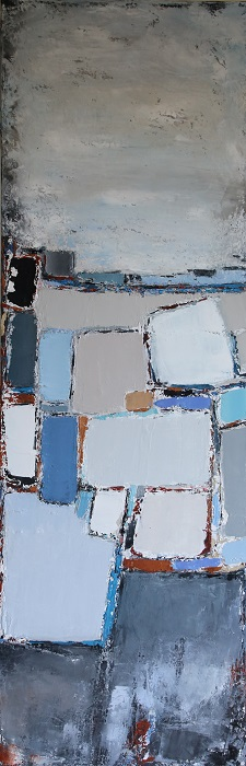 Composition Antibes 120x40cm - 2019