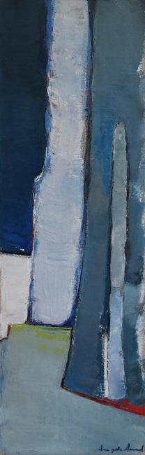 Composition Cobalt 30x90cm - 2014