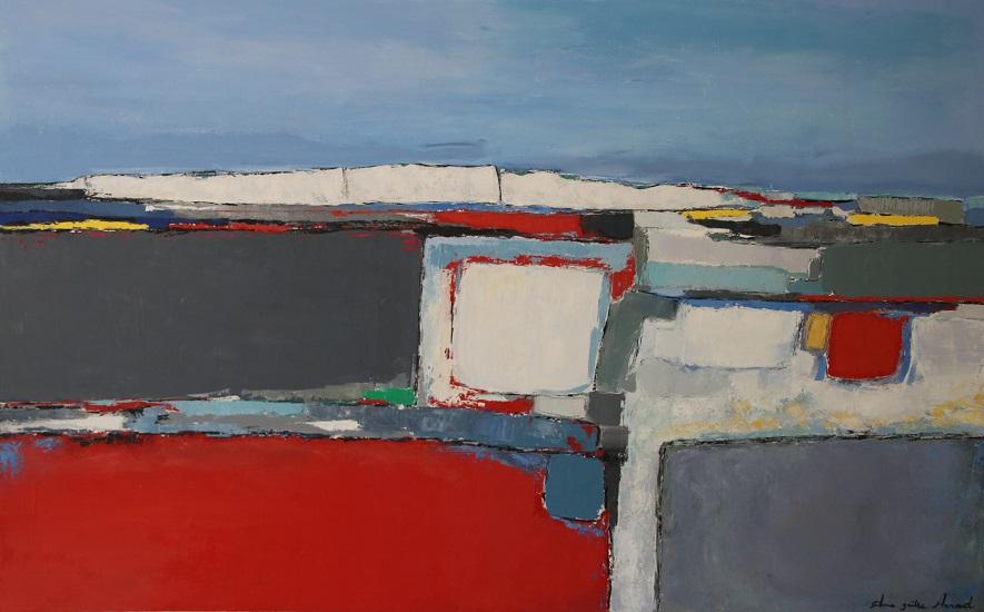 Les Falaises 130x81 cm - 2016