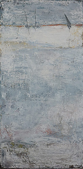 Marine 50x100 cm - 2014 collection particulière Tan l'Hermitage France