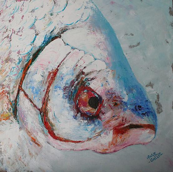 Autoportrait 40x40 cm - 2007