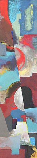 Composition 100x25 cm - 2008