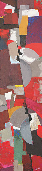 Composition engrenages 100x25 cm - 2006
