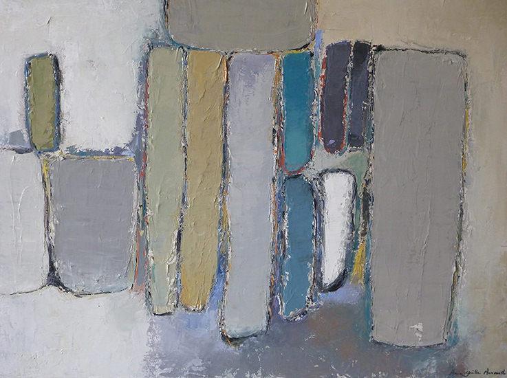 Composition Mastic 80x60 cm - 2013