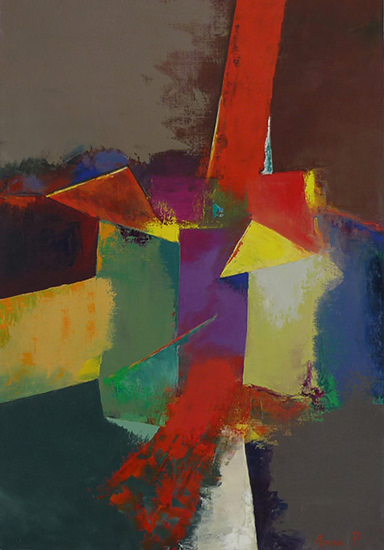Fragments 73x50 cm - 2009