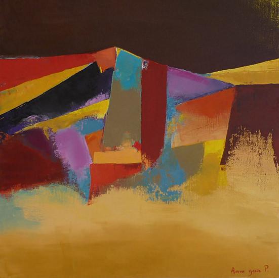 Sainte Victoire 60x60 cm - 2009