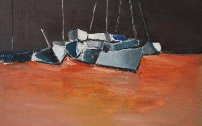 Barques 65x46 cm - 2013