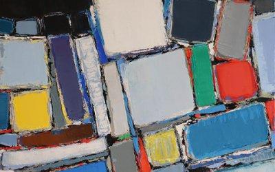 Composition 65x50cm - 2017 collection particulière Avignon