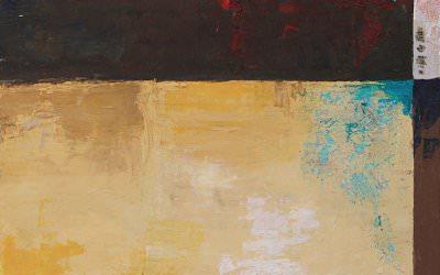Ciel de Feu 48x48 cm - 2007