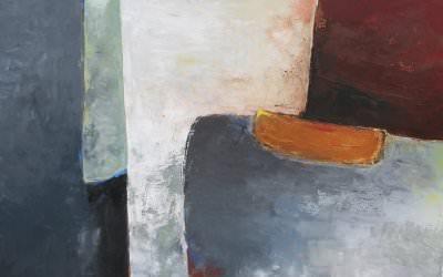 Composition en Gris 90x90 cm - 2011