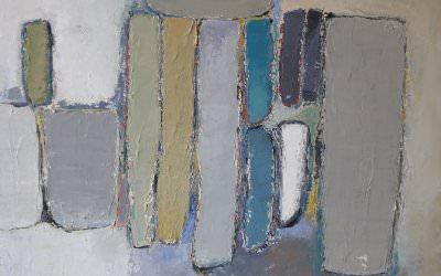Composition Mastic 80x60 cm - 2013 collection particulière Oslo Norvège