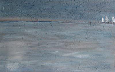 Les Voiles 100x100 cm - 2012
