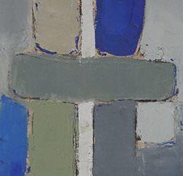 Petit Bleu 25x75cm - 2011 collection particulière Biot France