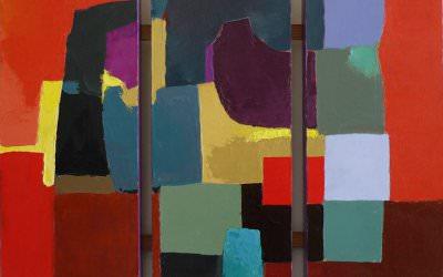 Triptyque Feu 60x60 cm - 2008
