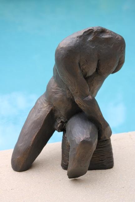 Buste masculin 30cm - 2013
