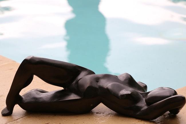 Femme à facettes - Bronze 45cm - 2019