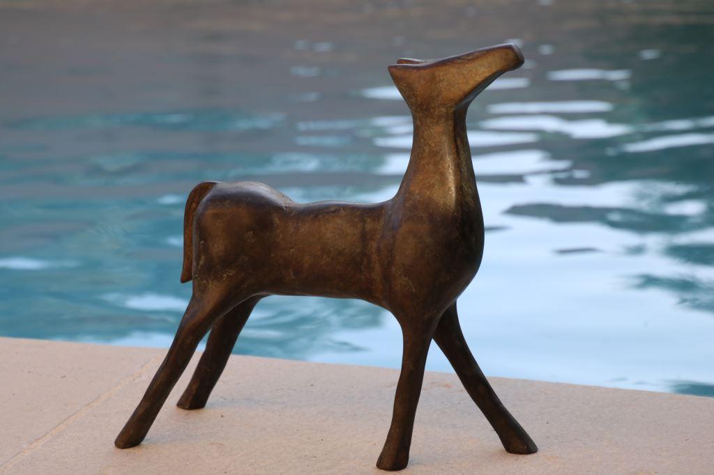 Le cheval Bronze 30 cm - 2015