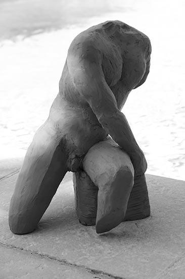 Buste masculin 40cm - 2013